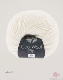 Laine LANA GROSSA - Cool Wool Big à tricoter