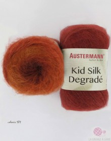 Laine AUSTERMANN - Kid Silk Degradé à tricoter